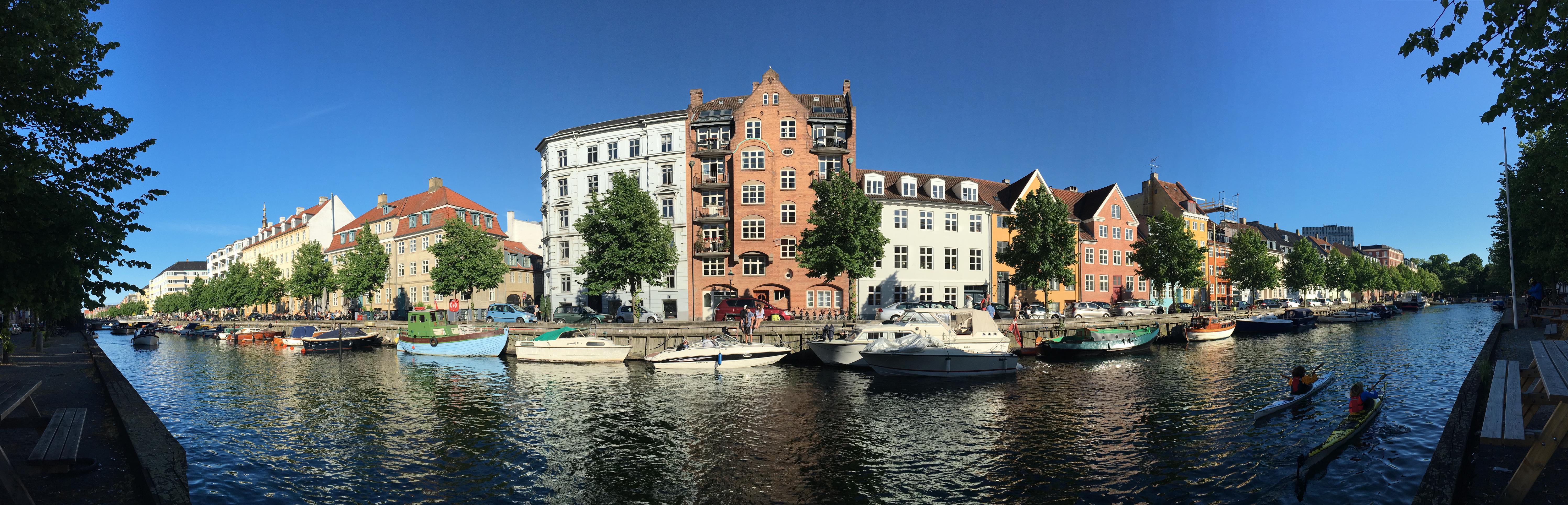 Dans les rues de Copenhagues