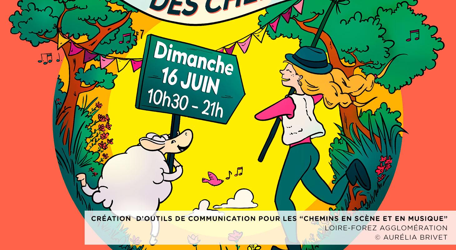 Chemins en scène et en musique (Loire-Forez Agglomération)