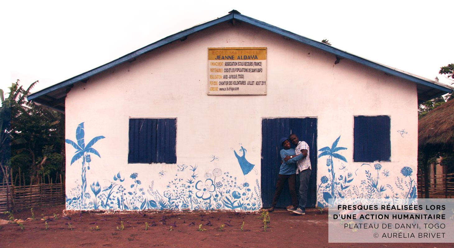 Fresques écoles (TOGO)